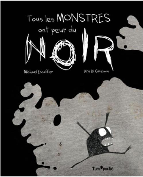 couverture de tous les monstres ont peur du noir éditions frimousse