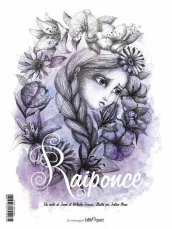 couverture de Raiponce éditions bilboquet